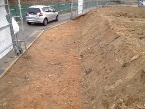駐車場掘削2