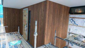 東大阪市「石切りの家」 外装工事も快調に進んでます。 (^^)v