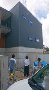 東大阪市『石切りの家(flexible house)』・・・お盆明けの現場定例打合せ!
