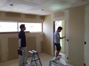 神戸市西区「H邸新築工事」 現場定例打合せも終盤に・・・
