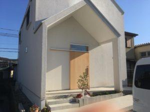 「泉大津の家」の一年点検を行いました