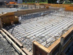 「市川町の家」基礎の配筋工事が進んでます