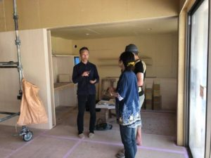 「神戸市N邸新築工事」工事順調に進んでいます。