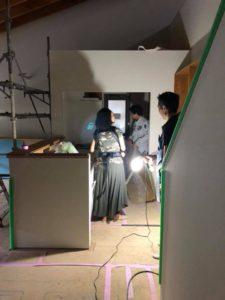 「神戸市N邸新築工事」大分と仕上がってきてます