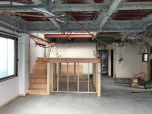 「ピアノステージのある家R e」下地工事に進みます