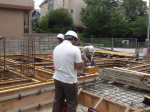 「神戸市F邸新築工事」上棟が近づいてきています!