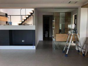 「ピアノステージのある家RE」完成間近です!