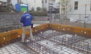 西宮市『O邸新築工事』上棟へ向けて工事は順調!