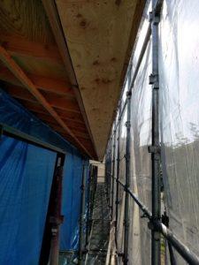 加西市「Yの住宅とサロン」工事は順調に進んでいます!