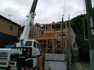 たつの市「M邸新築工事」上棟おめでとうございます!