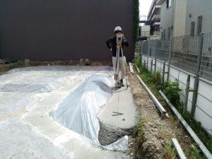 大阪府柏原市「柏原のテラスハウス」少~し早い進捗をみています!