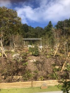 INAGAWA FOREST CEMETERY(猪名川霊園)東屋
