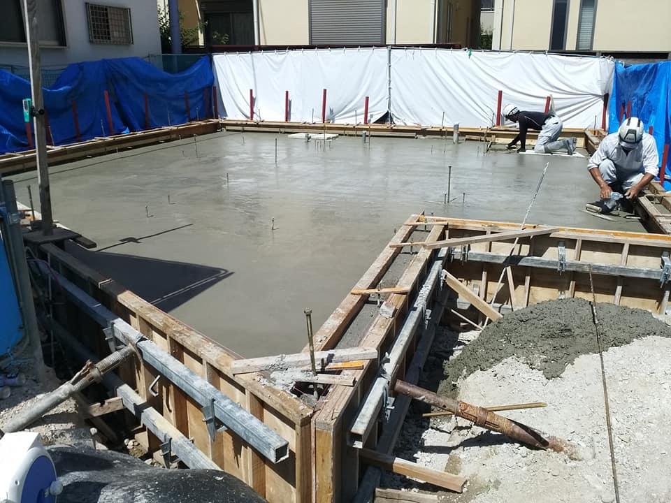 「西宮の住宅新築工事」